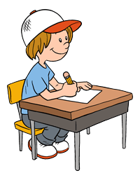 Student Working At Desk Clipart If you're working on a