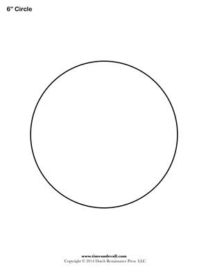 circle outline tim s printables