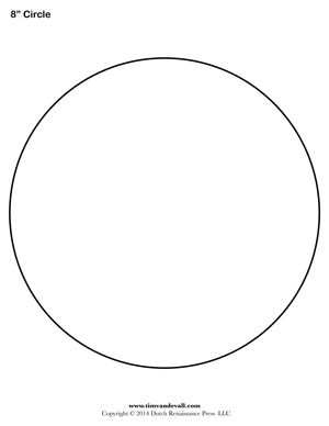 circle printable sheet