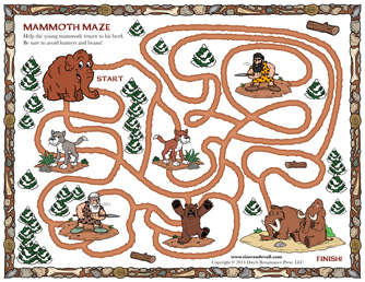 free printable maze for kids