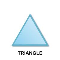 geometric shape templates blank printable shapes pdf