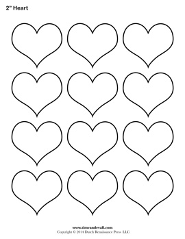 Printable Heart Outline