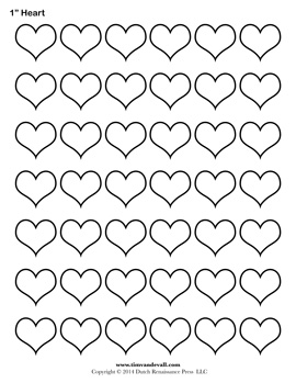 graphic regarding Printable Heart Stencils named Blank Middle Templates Printable Center Condition PDFs