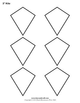 Printable Kite Templates
