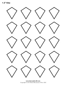 Image Result For Kite Coloring Templates