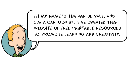 Tim van de Vall - Cartoonist, Storyteller, Illustrator