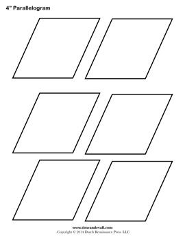 Parallelogram Sheet
