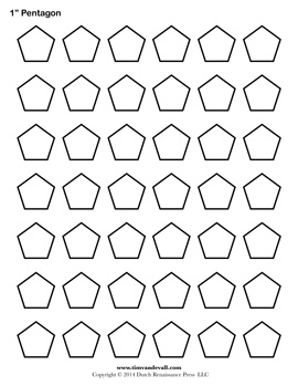 picture regarding Free Printable Shapes Templates referred to as Printable Pentagon Templates Blank Pentagon Condition PDFs