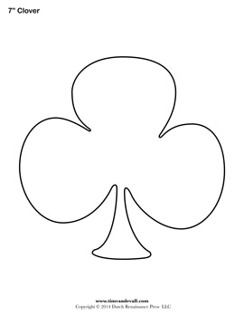 Free Printable Clover