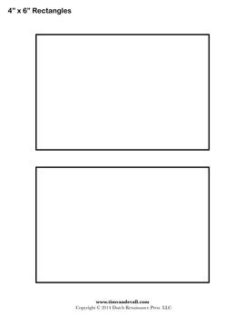 printable rectangle image