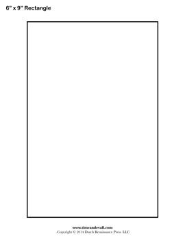 printable rectangle stencil