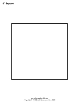 Square Templates Blank Shape Templates Free Printable Pdf