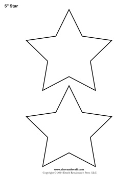 Lucrative image within star cutouts printable