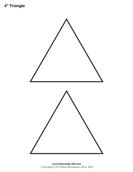 triangle templates