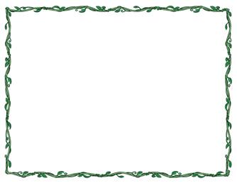free clip art border template