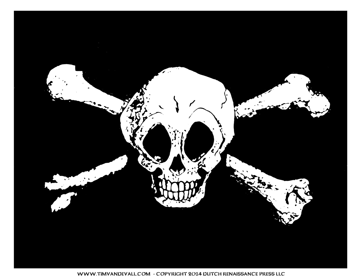 Jolly Roger Pirate Flag Printable For A Pirate Birthday Party