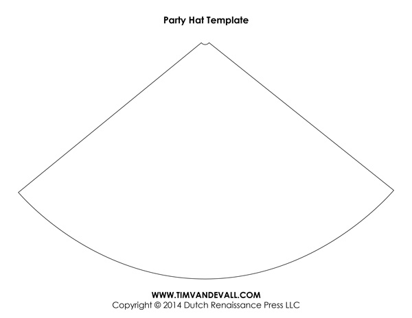 Birthday Party Hat Template
