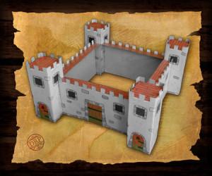 Printable Cardboard Castle