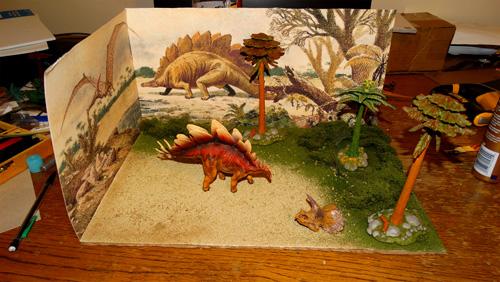 Dinosaur Diorama Kit
