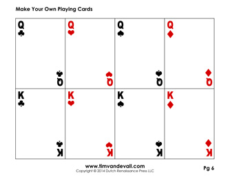 Printable Playing Card Template