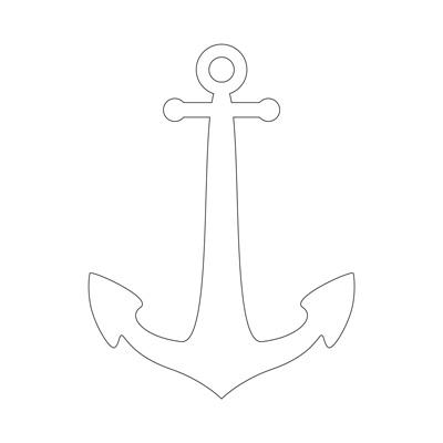 anchor outline