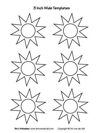 graphic regarding Sun Stencil Printable named Freebie Archives - Website page 4 of 13 - Tims Printables