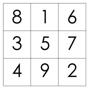 magic square puzzles