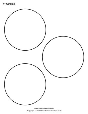 circle templates to print circle template 4 inch tim 39 s printables