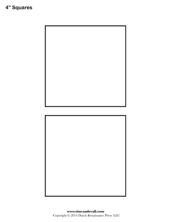 square templates 4 inch tim van de vall. Black Bedroom Furniture Sets. Home Design Ideas