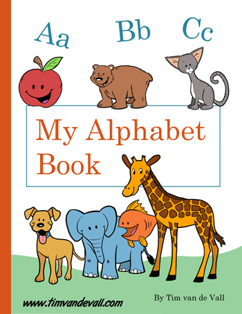 graphic relating to Alphabet Book Printable titled Absolutely free Printable Alphabet Guide PDF Printables for Preschool