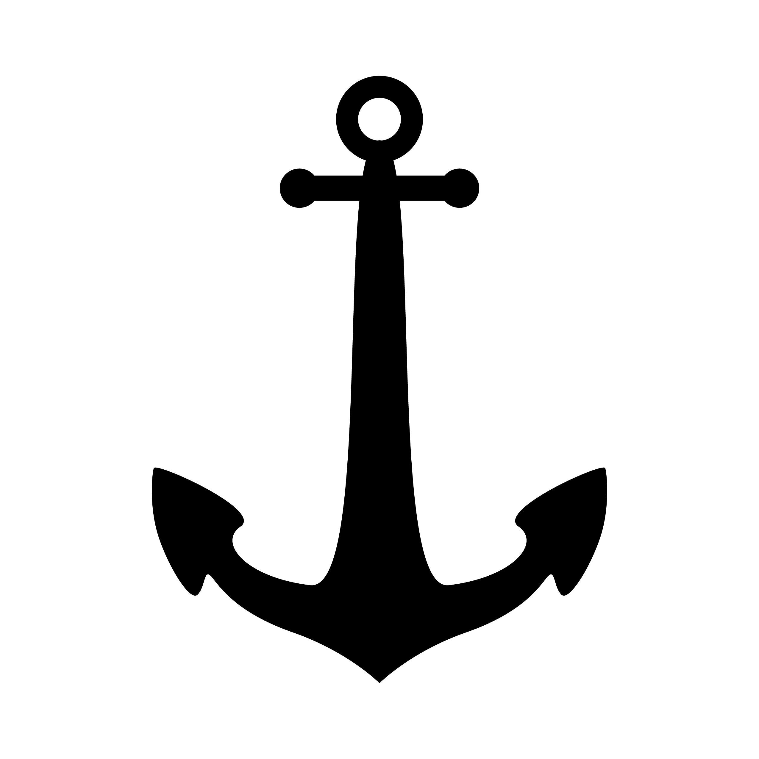 graphic about Printable Anchor Template titled Anchor Stencil No cost Printable Stencil Templates