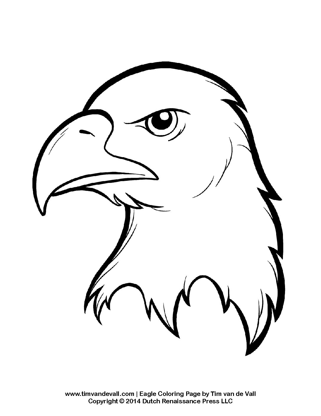 Bald Eagle Coloring Page Tim S Printables