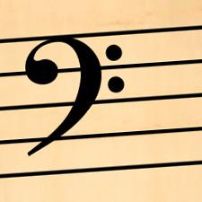 blank bass clef staff - photo #35