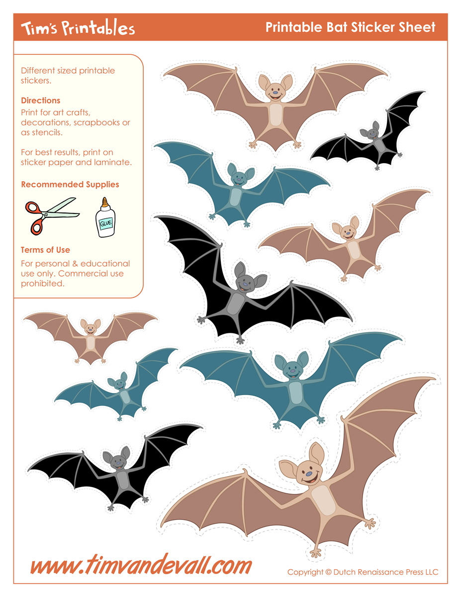picture about Printable Bat identified as Halloween Bat Templates in the direction of Slice Out Paper Bat Decorations - PDF