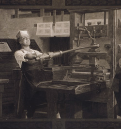 Benjamin Franklin Print Shop