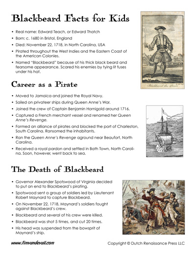blackbeard facts