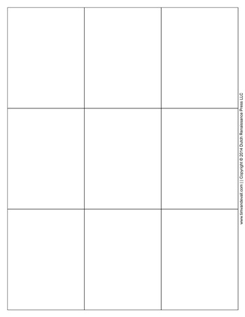 It is a photo of Declarative Printable Blank Flash Cards