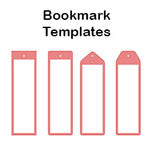 Blank bookmark templates make your own bookmarks blank bookmark templates maxwellsz