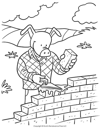 norcor brick coloring book pages - photo#8