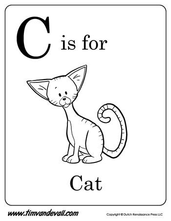 Letter C Worksheets | Preschool Alphabet Printables