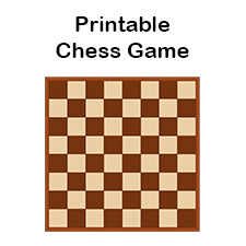 image regarding Printable Chess Board named Chess-Sport-225 - Tims Printables