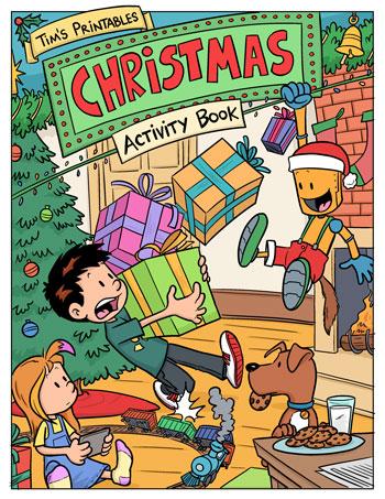 Christmas activity eBook