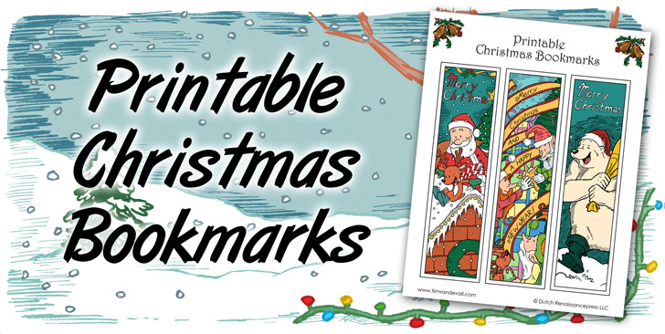 photo regarding Printable Christmas Bookmarks named Xmas Bookmarks - A Pleasurable Printable Xmas Craft for Young children