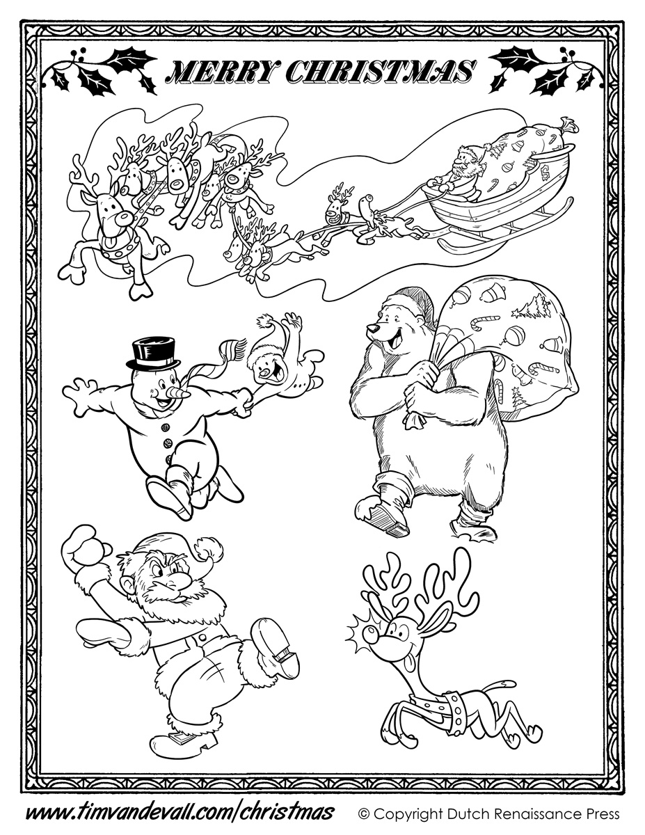 Worksheet. Printable Christmas Cut Outs