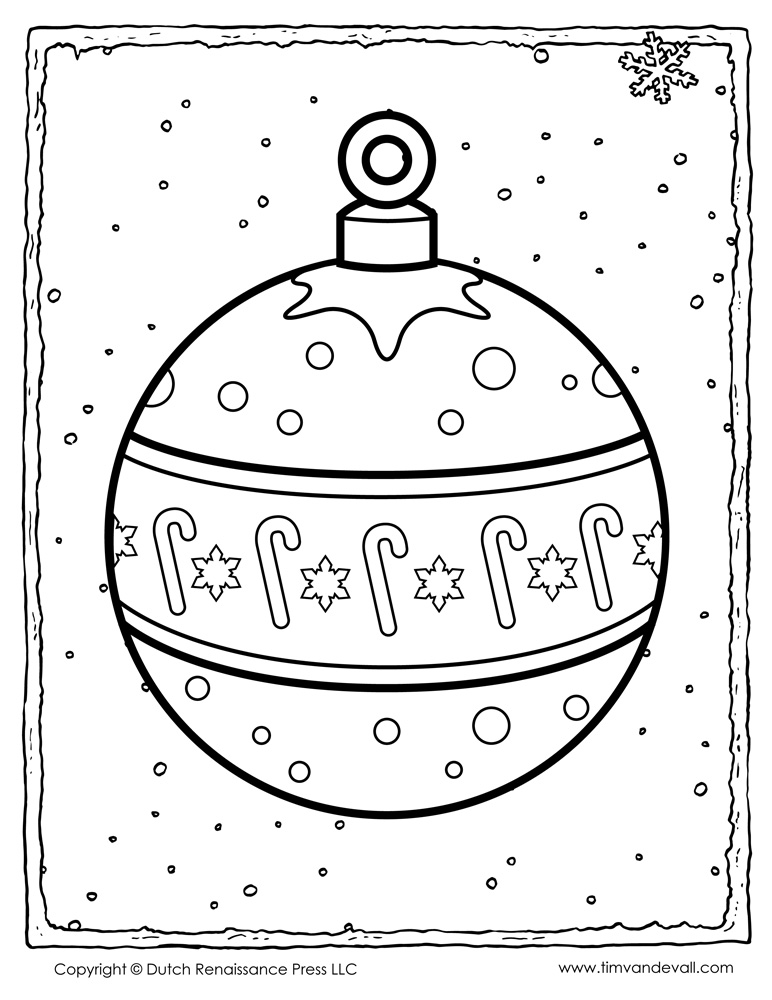 Christmas Ornaments  A Kids Heart