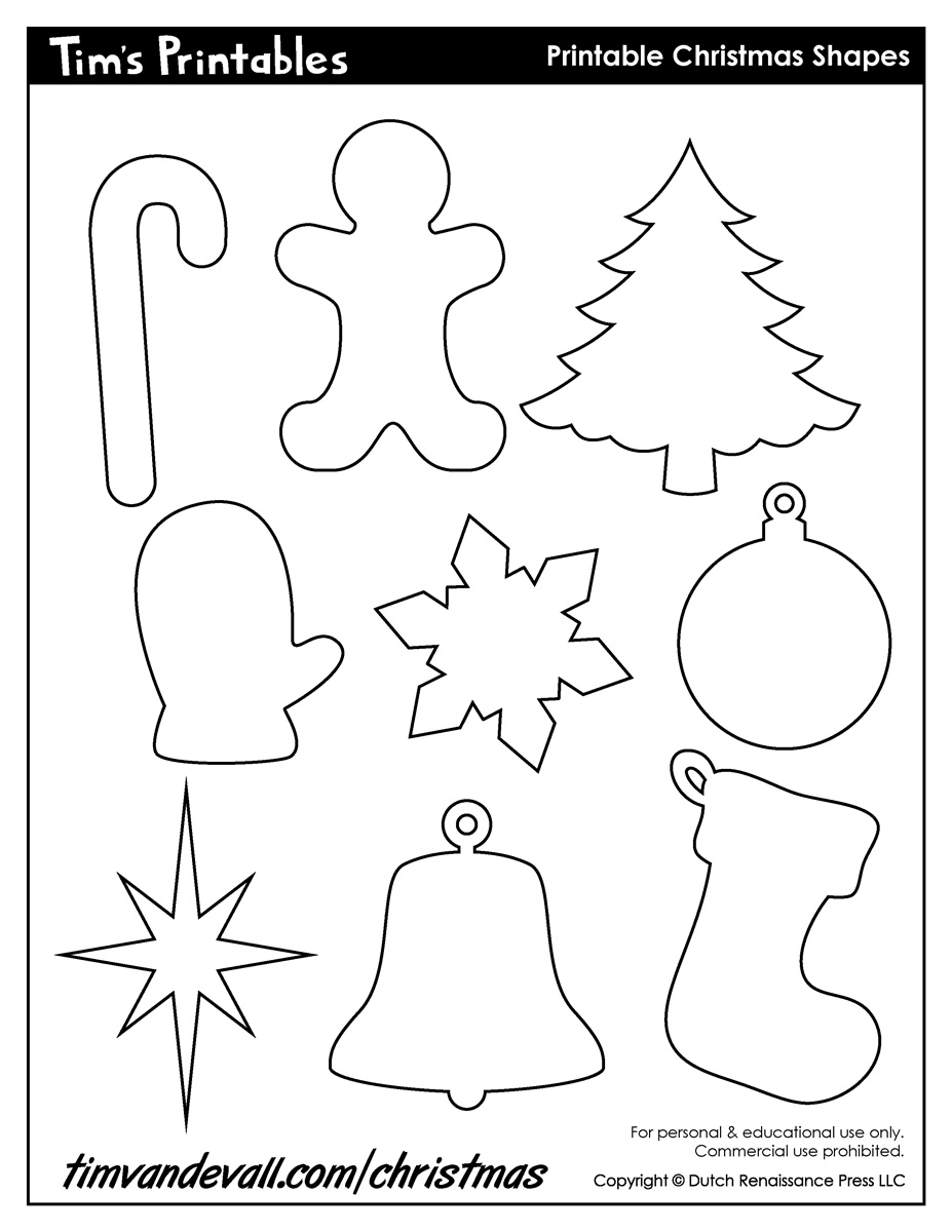Crush image with regard to free printable christmas cutouts