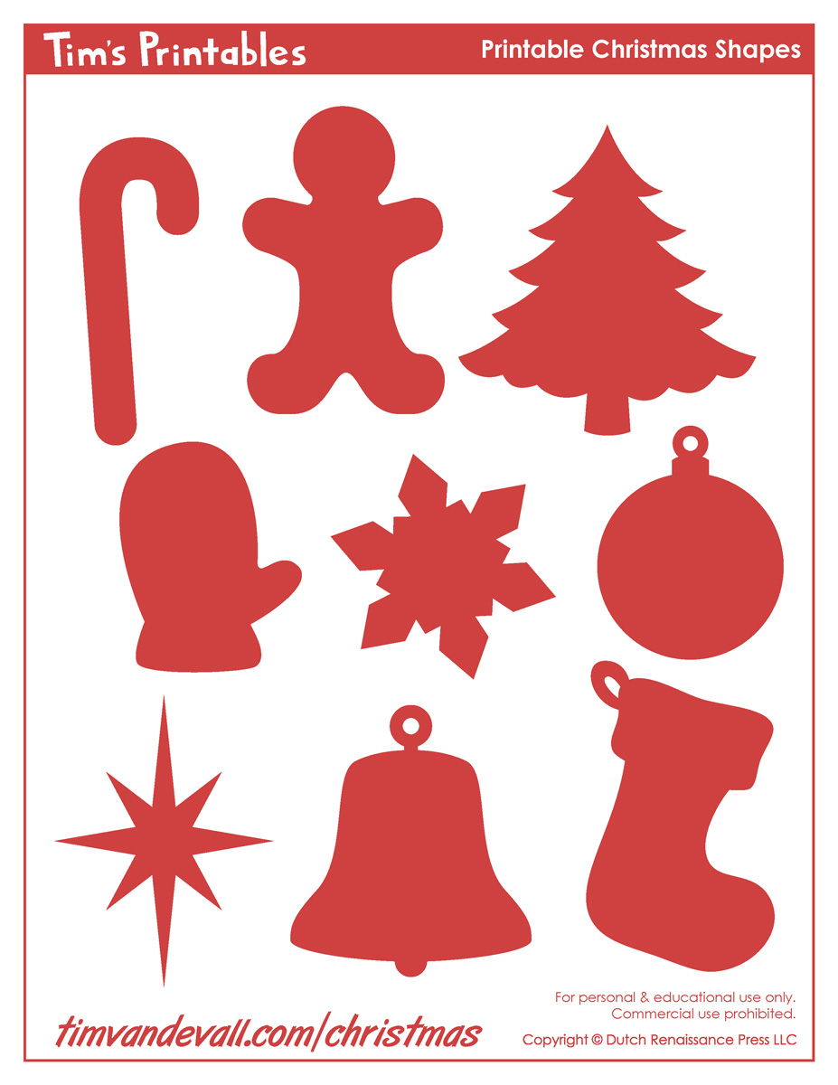 printable christmas shapes christmas shape templates christmas shape templates christmas shapes printable
