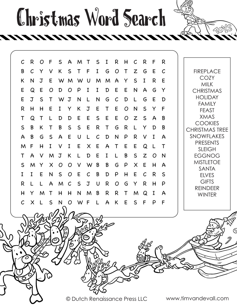 categories word searches holiday christmas download printable - Printable Christmas Word Search