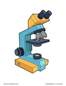 Compound Microscope Drawing-72