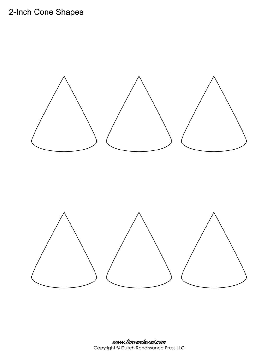 This is a picture of Fan Cone Pattern Printable